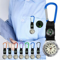 2019 Portable Sports Watch Multi Function Compass Watch Nurse Hanging Watch NEW
