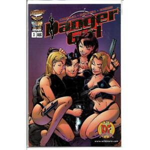 Danger Girl #3 DYNAMIC FORCES GOLD FOIL EDITION COA 5300 Image Comic August 1998