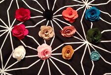 Handmade Flower Lapel Pins