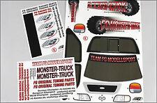 FG Fahrzeug-Dekorbogen Monster / Stadium / Street Truck, Set - 20155 - decals
