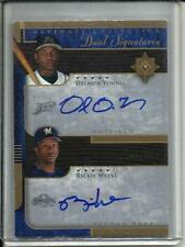Delmon Young-Rickie Weeks 2005 Ultimate Collection Autograph #16/25