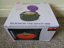 MICROWOW ONE TOUCH 1000 INSULATED MICROWAVE CASSEROLE POT SERVING DISH BRAND NEW