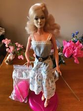 "Vintage 1978 GIANT 18"" Teenage Mego Corp CANDI Doll w/ MAKEUP ,STAND AND ACCESS!"