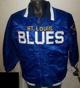 ST. LOUIS BLUES NHL Starter Full Zip  Jacket BLUE  M L XL