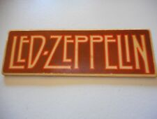 Rare Vintage Cardboard Led Zeppelin Concert Tour Button/Pin - See Pix/Page/Plant