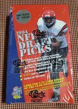 1994 CLASSIC NFL DRAFT PICKS FOOTBALL BOX - Factory Sealed