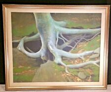 "Original oil on canvas Painted By Dave DeRan 1983 19"" x 23"""