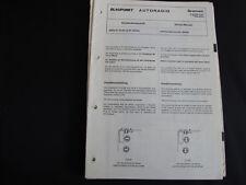 Original Service Manual Blaupunkt Bremen