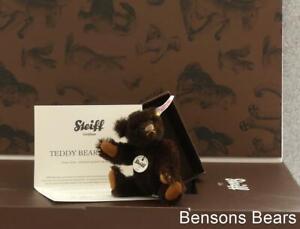 Steiff 2011 Annual Club Renewal Miniature Bear Brown Alpaca Big Box Ean 421167