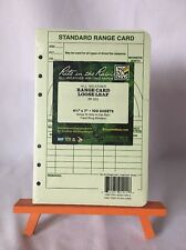 New Green Range Card Loose Leaf # 912 Rite in the Rain All Weather Writing Paper