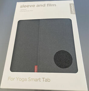 Lenovo Yoga Smart Tab Grey Sleeve with Protective Film