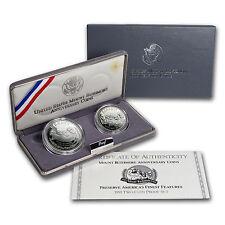 1991 2-Coin Mount Rushmore Proof Set (w/Box & COA) - SKU #7130