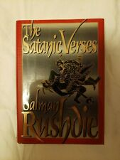 The Satanic Verses by Salman Rushdie (1st Edition/First Printing, hardcover)