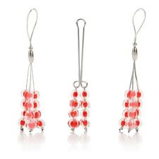 Nipple and Clitoral Non Piercing Body Jewelry Ruby Jewelry