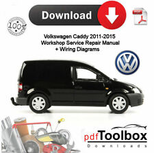 VW Caddy PDF Workshop Service /& Repair Manual 2004-2010