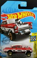 2019 Hot Wheels '55 Chevy Bel Air Gasser Holley 1955  ~  Fast Free Shipping!
