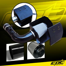 For 13-19 Scion FRS BRZ 2.0L 4cyl Black Cold Air Intake + Stainless Steel Filter