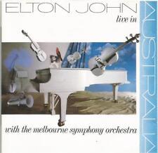 Elton John - Live In Australia 1987 West German pressed CD