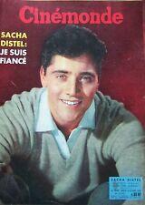 CINEMA SACHA DISTEL MORGAN HOSSEIN MARIA SCHELL PERIER N° 1332 CINEMONDE 1960