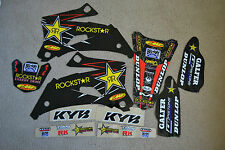 FLU  ROCKSTAR GRAPHICS & BLACK BCKGNDS YAMAHA  YZF250 YZF450 2006 2007 2008 2009