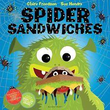 Spider Sandwiches,Freedman, Claire,Very Good Book mon0000049651