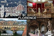 SOUVENIR FRIDGE MAGNET of FLORENCE ITALY