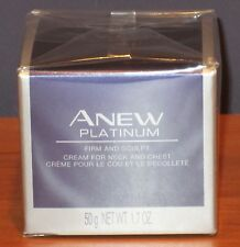 Avon Anew Platinum Anti-aging Firm and Sculpt Cream for Neck and Chest $38 NIB