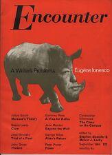 ENCOUNTER MAGAZINE(September 1964)MARCUSE-IONESCO-ISHERWOOD-CLARE-JOSEF BRODSKY-