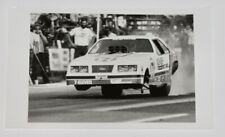 Vintage 1980's BILLY MEYER Ford Mustang Pro Stock NHRA 5x7 Press Photo