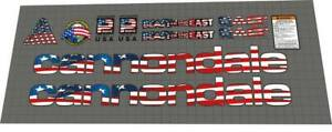 Cannondale Beast of the east 1996 Decal Set