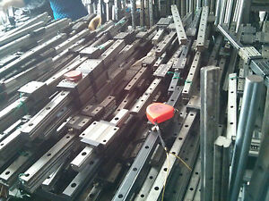 THK HSR25A NSK IKO Used Linear Guide Rail Bearing CNC Router Various Length