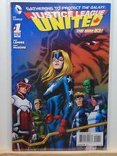 Justice League United #1 the new 52 D.C. Universe Comics  CB4797