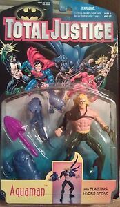 "Total Justice ""Aquaman"" Action Figure w/ accessories"
