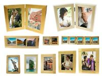 Solid Wood Oak Wooden Picture Photo Frame Multi Aperture Collage Folding 2 3 5