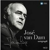 Jose van Dam Autograph (2015) New & Sealed