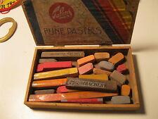vintage box Talens Fijne Pastels Grumbacker box