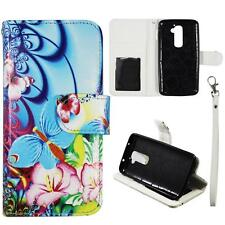 Case for LG Optimus G2 D802 D801 Leather Wallet Pouch Flip Cover ID Card Pocket