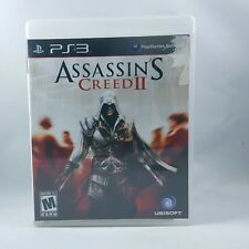 Assassin's Creed II (Sony Playstation 3, 2009) PS3 GAME, COMPLETE