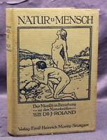 Roland Natur und Mensch biologisch und hygienisch dargestellt Geschichte js