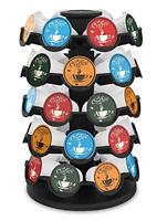 40 Keurig K-Cup Pods Coffee Pod Storage Carousel Holder Organizer Decoration