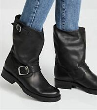Frye women veronica short boot size 8B in smoke color vintage leather new