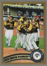 2011 TOPPS GOLD #126 SAN DIEGO PADRES   /2011