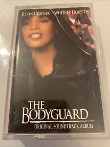 THE BODYGUARD - CASSETTE TAPE - ORIGINAL SOUNDTRACK ALBUM (WHITNEY HOUSTON)