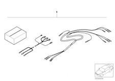 BMW E39 Sitzheizung Kabelsatz Seat Heating Cable Retrofit NEU 52110002132