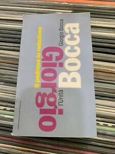 GIORGIO BOCCA - IL PADRONE IN REDAZIONE - L'UNITA' - 1994