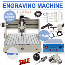 3 Axis CNC Router Engraver 3d Engraving Drilling Milling Machine 400w 3040 U