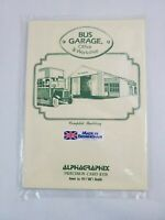 Alphagraphix Bus Garage Office & Workshop Card Kits Made in England 00 Scale