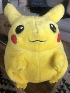 """Vintage Pokémon Pikachu Jumbo 15"""" Plush - 1999 Nintendo Hasbro Tomy (57833) Rare"""