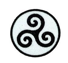 Patch backpack triskel trisquel triskele celtic irish ireland