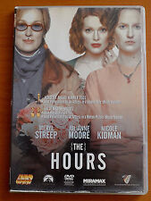 THE HOURS DVD PAL FORMAT REGION 2  Nicole Kidman, Meryl Streep, Julianne Moore